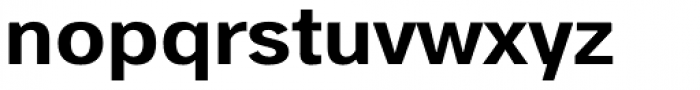 StudioSans Bold Font LOWERCASE