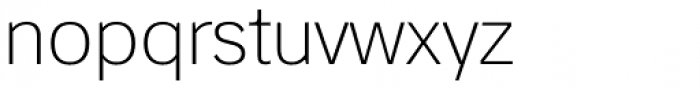 StudioSans Extra Light Font LOWERCASE