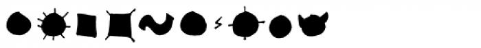 Stumbeleina Scribble 1 Black Font OTHER CHARS