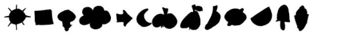 Stumbeleina Scribble 1 Black Font LOWERCASE