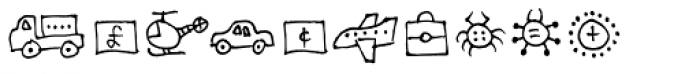 Stumbeleina Scribble 2 Font OTHER CHARS