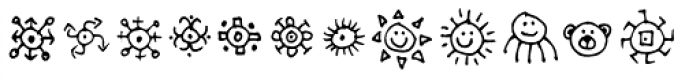 Stumbeleina Scribble 2 Font UPPERCASE