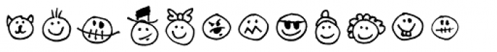 Stumbeleina Scribble 2 Font LOWERCASE
