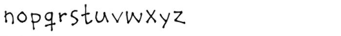 Stumbeleina Font LOWERCASE