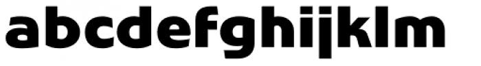 Stumpy Font LOWERCASE