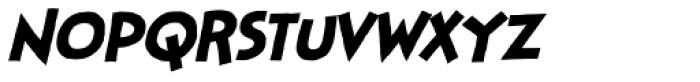 Stupid Head Italic Font LOWERCASE