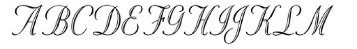 Stuyvesant ICG Eng Font UPPERCASE