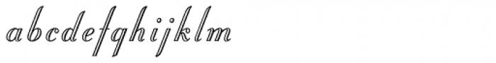 Stuyvesant Std Engraved Font LOWERCASE