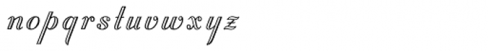 Stuyvesant Font LOWERCASE