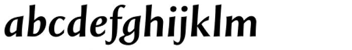 Styla Pro Bold Italic Font LOWERCASE