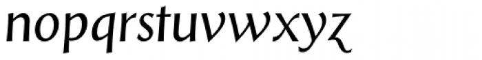 Styla Pro Italic Font LOWERCASE