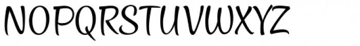 Style Casual Font UPPERCASE
