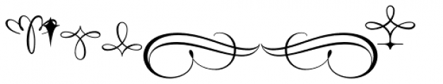 Style Ornaments Font LOWERCASE