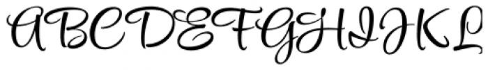 Style Script Pro Font UPPERCASE