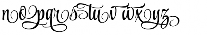 Style Swashes Font LOWERCASE