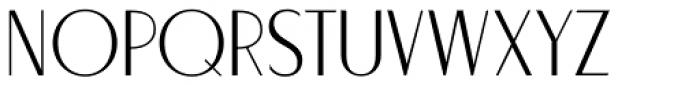 Stylette JNL Font UPPERCASE