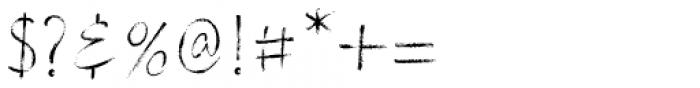 Stylish Marker Font OTHER CHARS