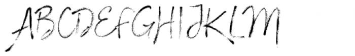 Stylish Marker Font UPPERCASE