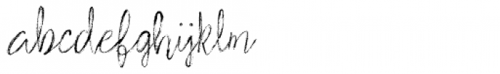 Stylish Marker Font LOWERCASE