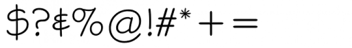 Stylus Font OTHER CHARS
