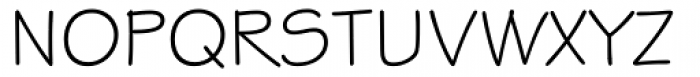 Stylus Font UPPERCASE