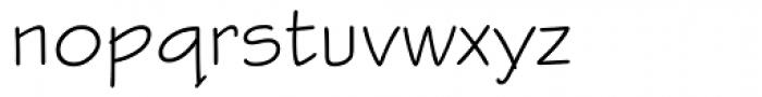 Stylus Font LOWERCASE