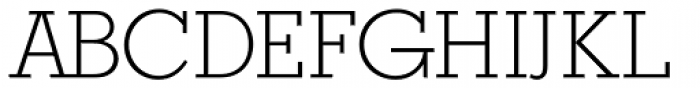Stymie DC D Light Font UPPERCASE