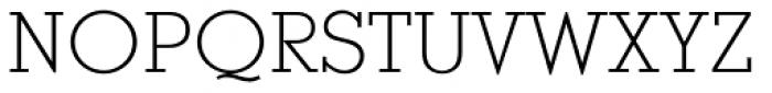 Stymie EF Light Font UPPERCASE