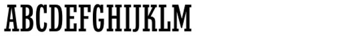 Stymie EF Medium Condensed Font UPPERCASE