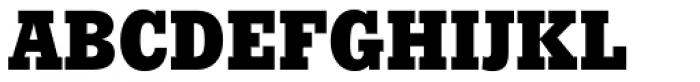 Stymie ExtraBold Font UPPERCASE