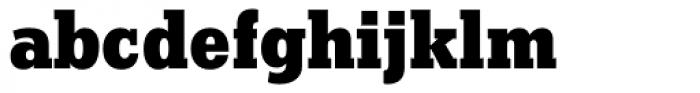 Stymie ExtraBold Font LOWERCASE