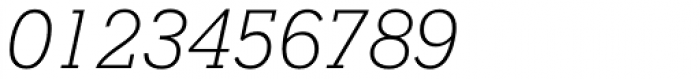 Stymie Light Italic Font OTHER CHARS