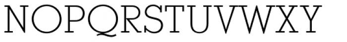 Stymie Light SC Font UPPERCASE