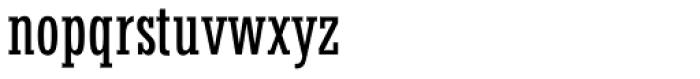 Stymie Medium Condensed Font LOWERCASE