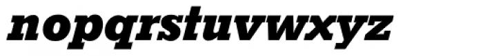 Stymie SB Bold Italic Font LOWERCASE