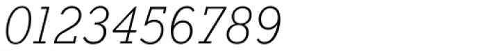 Stymie SB ExtraLight Italic Font OTHER CHARS