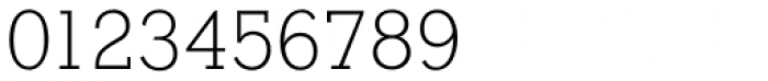 Stymie SB ExtraLight Font OTHER CHARS