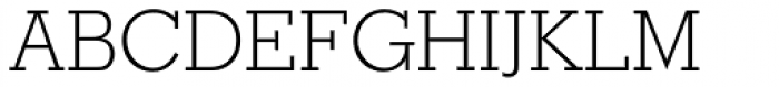 Stymie SB ExtraLight Font UPPERCASE
