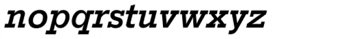 Stymie SB Medium Italic Font LOWERCASE
