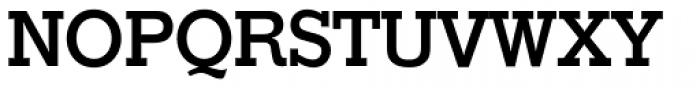 Stymie SB Medium Font UPPERCASE