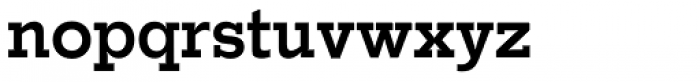 Stymie SB Medium Font LOWERCASE