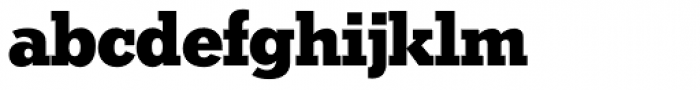 Stymie SH Bold Font LOWERCASE