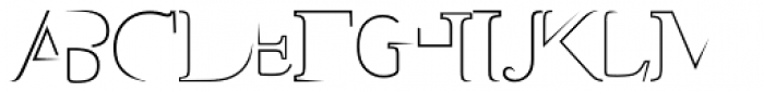 Styptic Font UPPERCASE