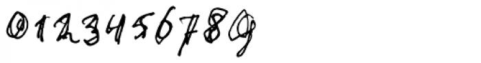 stonehandSaul Font OTHER CHARS
