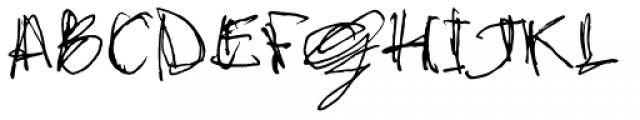 stonehandSaul Font UPPERCASE