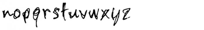 stonehandSaul Font LOWERCASE