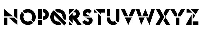 EuclidStencil Bold Web Font UPPERCASE