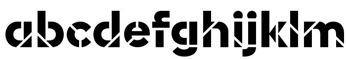 EuclidStencil Bold Web Font LOWERCASE