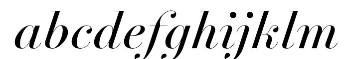 NewParisKingSize RegularItalic WebXL Font LOWERCASE