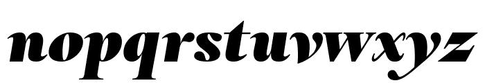 RomainHeadline BlackItalic WebXL Font LOWERCASE